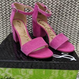 Hot Pink Sam Edelman Block Heel Torrence Sandal